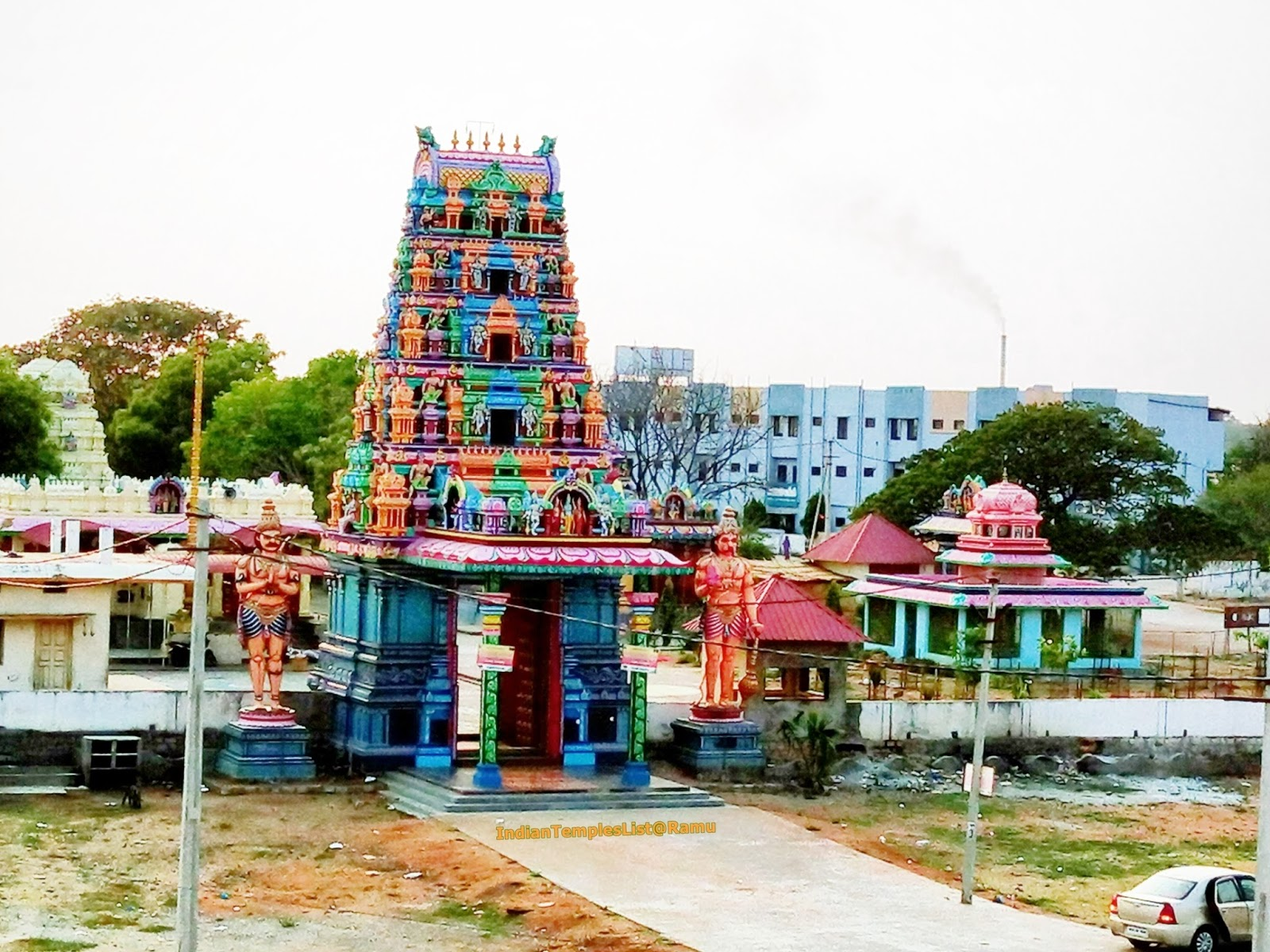beechupally hanuman temple